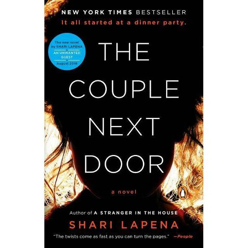 Couple Next Door -  Reprint by Shari Lapena (Paperback) - image 1 of 1