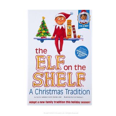 The Elf on the Shelf - Brown Eye Boy Elf - by Chanda Bell (Hardcover)