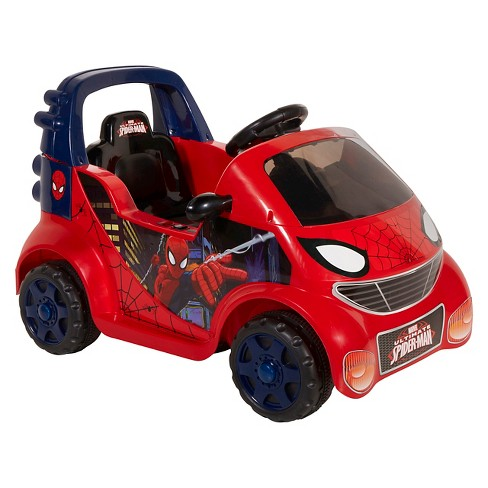 Spider-Man Kids' Single Seat 6V Ride On - Red - image 1 of 4