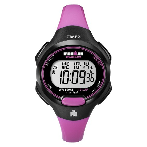 Women's Timex Ironman® Essential 10 Lap Digital Watch - Pink T5K525JT - image 1 of 1