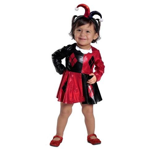 da0c85c58d58 Toddler Girls  Harley Quinn Costume - 18-24 Months   Target