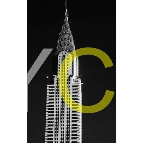 Chrysler Building NYC Artist Drawing Journal - by  Sir Michael Huhn & Sir Michael (Paperback) - image 1 of 1