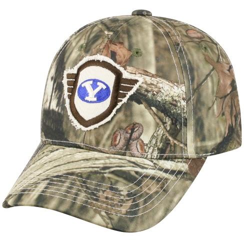 188b5e18710 NCAA Men s BYU Cougars Baseball Hat - Camo Wings   Target