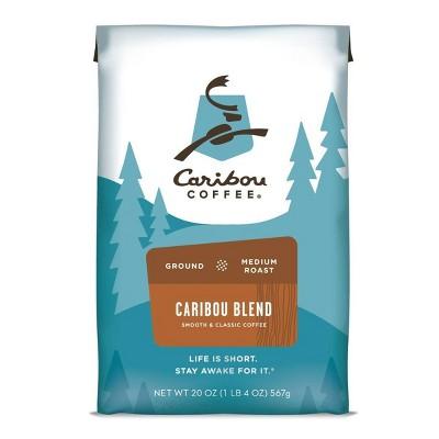 Caribou Coffee Caribou Blend Medium Roast Ground Coffee - 20oz