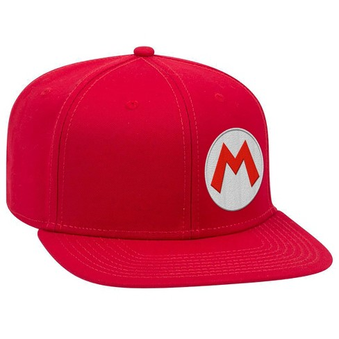 Nintendo Mario Brimmed Hat - Red - image 1 of 1