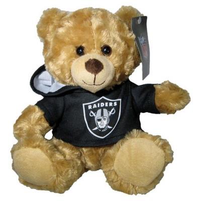 """NFL Oakland Raiders 9"""" Hoodie Bear"""