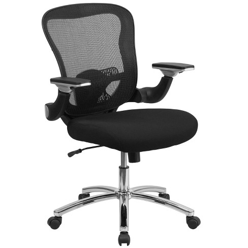 Executive Swivel Office Chair Black Mesh - Flash Furniture - image 1 of 4
