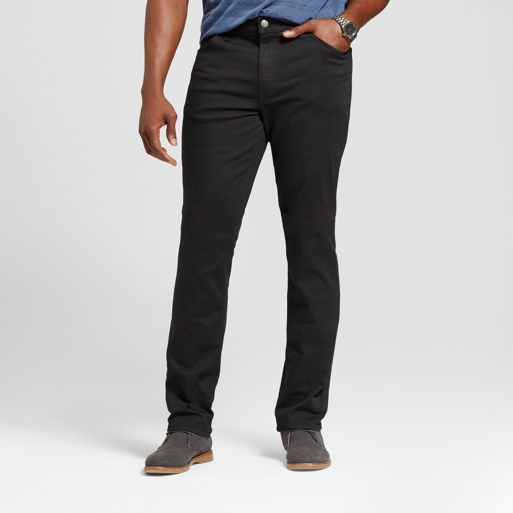 Men's Tall Skinny Fit Jeans - Goodfellow & Co Black 33x36