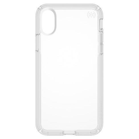 timeless design 87258 f3fcf Speck iPhone X Case Presidio - Clear