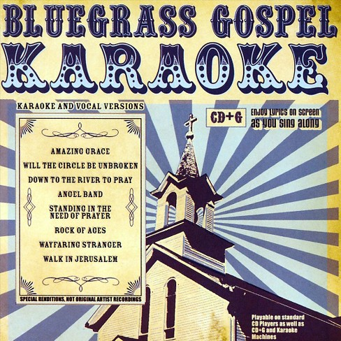 Various - Bluegrass gospel karaoke (CD) - image 1 of 1