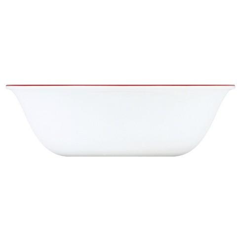 Corelle Red Trellis Vitrelle Bowl 18oz - Red - image 1 of 1