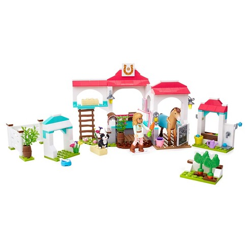 Mega Construx American Girl Nicki's Horse Stables Building Set - image 1 of 8