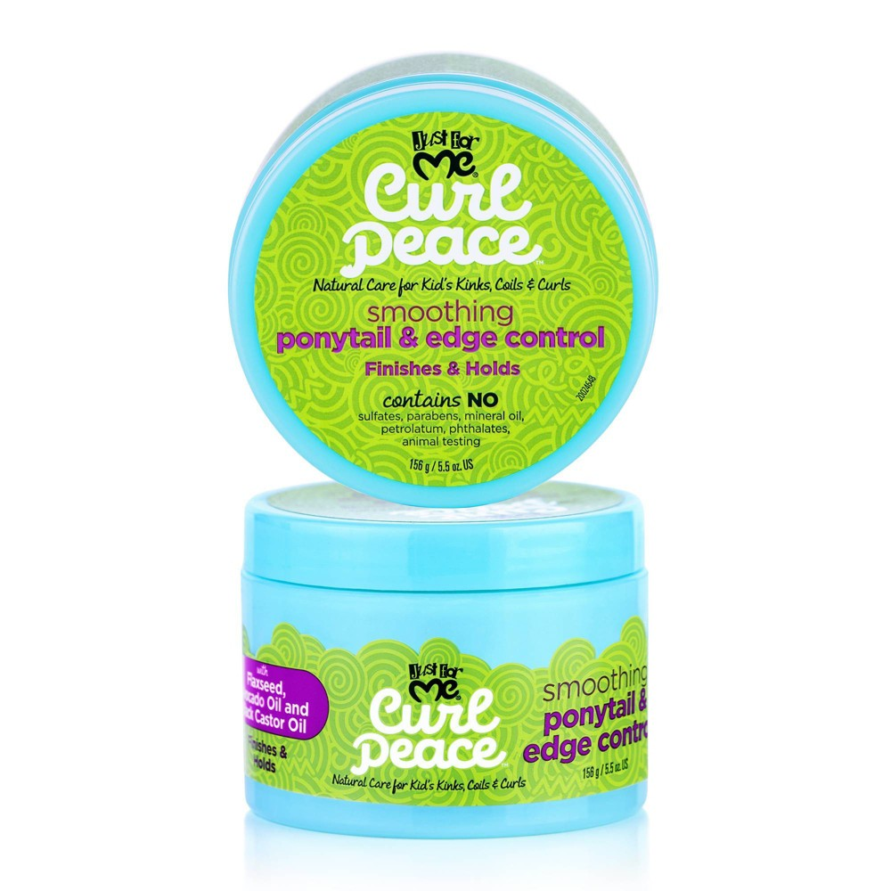 Image of Just For Me Curl Peace Kids Smoothing Ponytail & Edge Control - 5.5oz