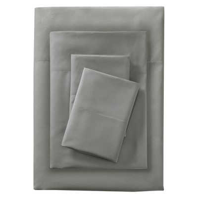 Queen Microfiber Sheet Set Gray - Room Essentials™