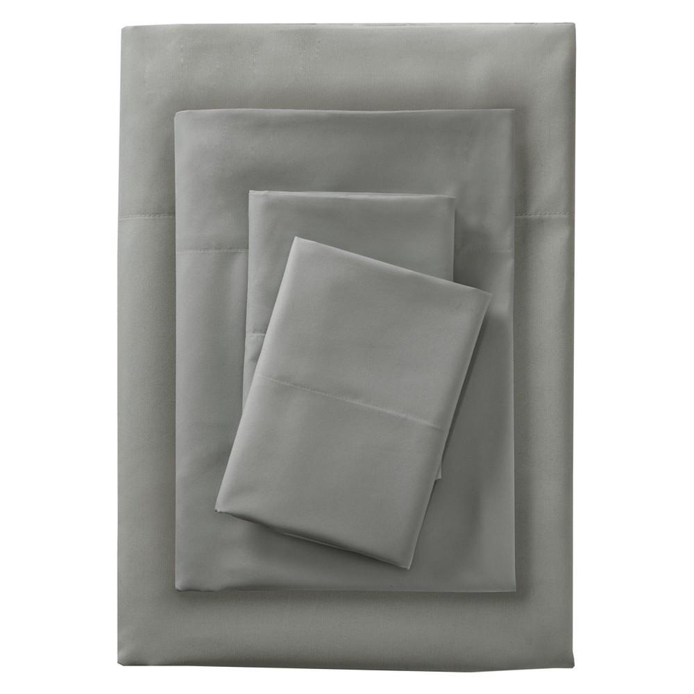 Microfiber Sheet Set Gray (King) - Room Essentials