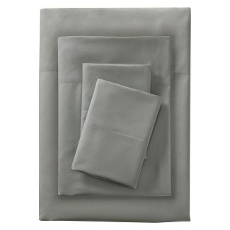 King Microfiber Sheet Set Gray - Room Essentials™