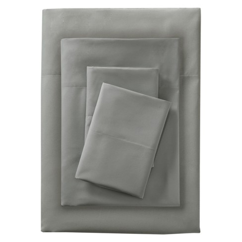 Full Microfiber Sheet Set Gray - Room Essentials™ - image 1 of 1