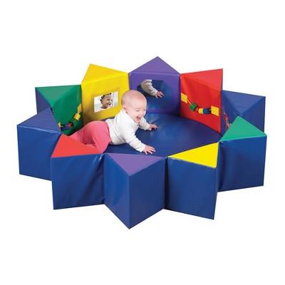 Children's Factory Multi-Activity Infant Tummy Time Pentagon Set