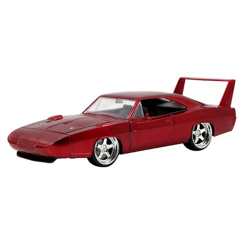 Jada Toys Fast & Furious 1969 Dodge Charger Daytona Die-Cast Vehicle 1:24 Scale Glossy Red - image 1 of 3