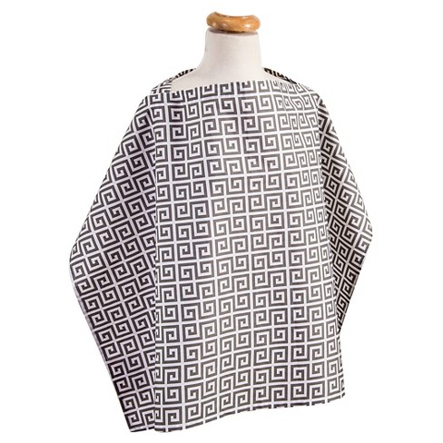 Trend Lab Greek Key Nursing Cover - Gray - image 1 of 1