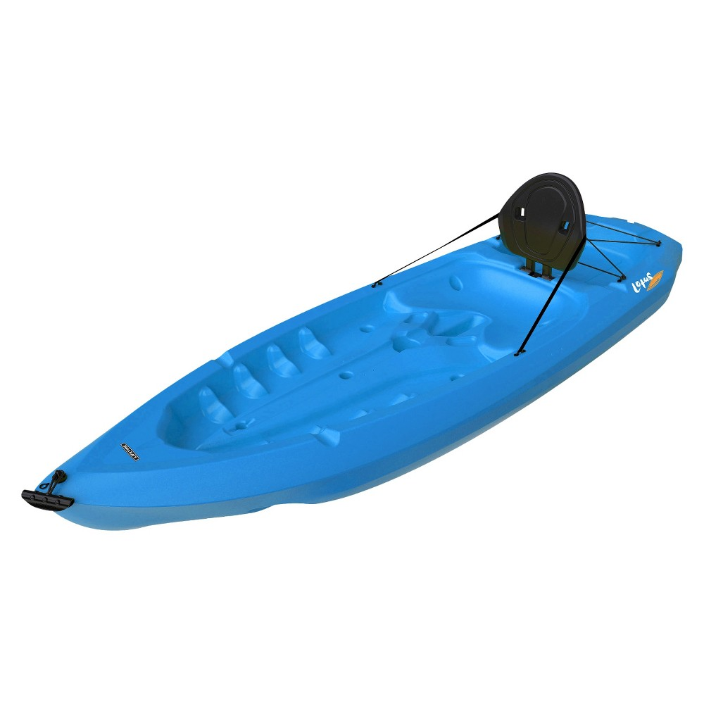 Lifetime 8' Adult Lotus Kayak - Blue, Multi-Colored The 8 ft. Lifetime Adult Lotus Kayak is the perfect adult length, providing convenient transportation and storage options. Its compact design easily fits inside the average apartment or home closet, and the flat back end allows the kayak to stand upright. Optional add-on items transform the standard Lotus kayak into the do it all kayak. Includes hard adjustable backrest. From paddling and fishing to surfing and even sailing, the Lifetime Adult Lotus kayak is perfect for your outdoor adventure. Color: Multi-Colored.