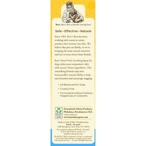 Burt's Bees Itch Soothing Pet Spray - 10oz