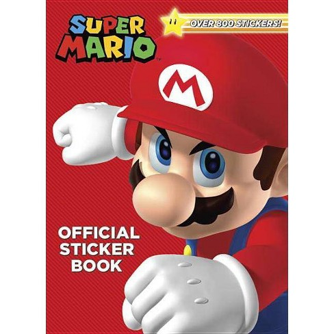 Super Mario Official Sticker Book - by Steve Foxe (Paperback)