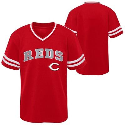 MLB Cincinnati Reds Toddler Boys' Pullover Jersey