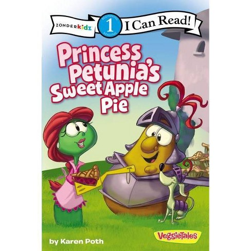 Princess Petunia's Sweet Apple Pie - (I Can Read Big Idea Books VeggieTales - Level 1) by  Karen Poth (Paperback) - image 1 of 1