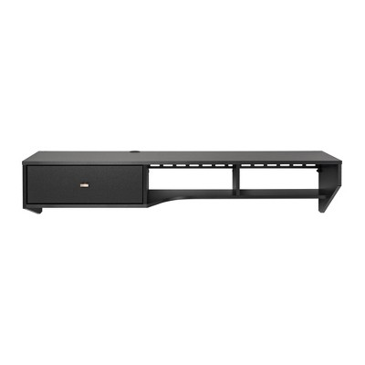 Modern Floating Desk with Drawer - Prepac