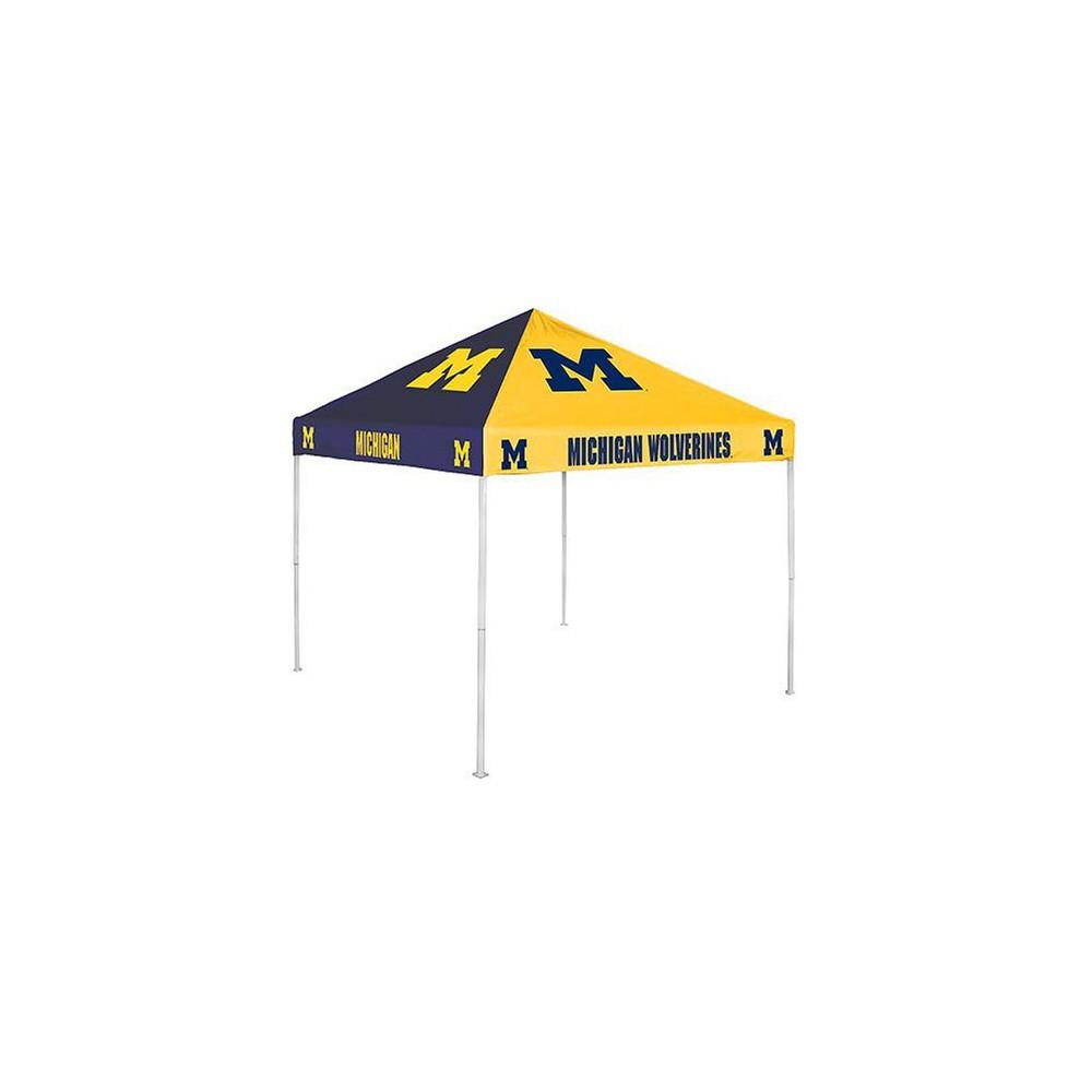 Michigan Wolverines Checkerboard Canopy Tent