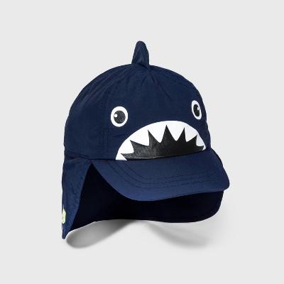 Toddler Boys' Shark Swim Hat - Cat & Jack™ Navy