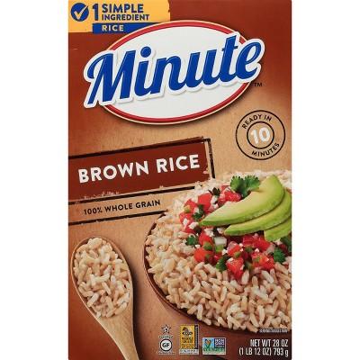 Minute Instant Whole Grain Brown Rice - 28oz
