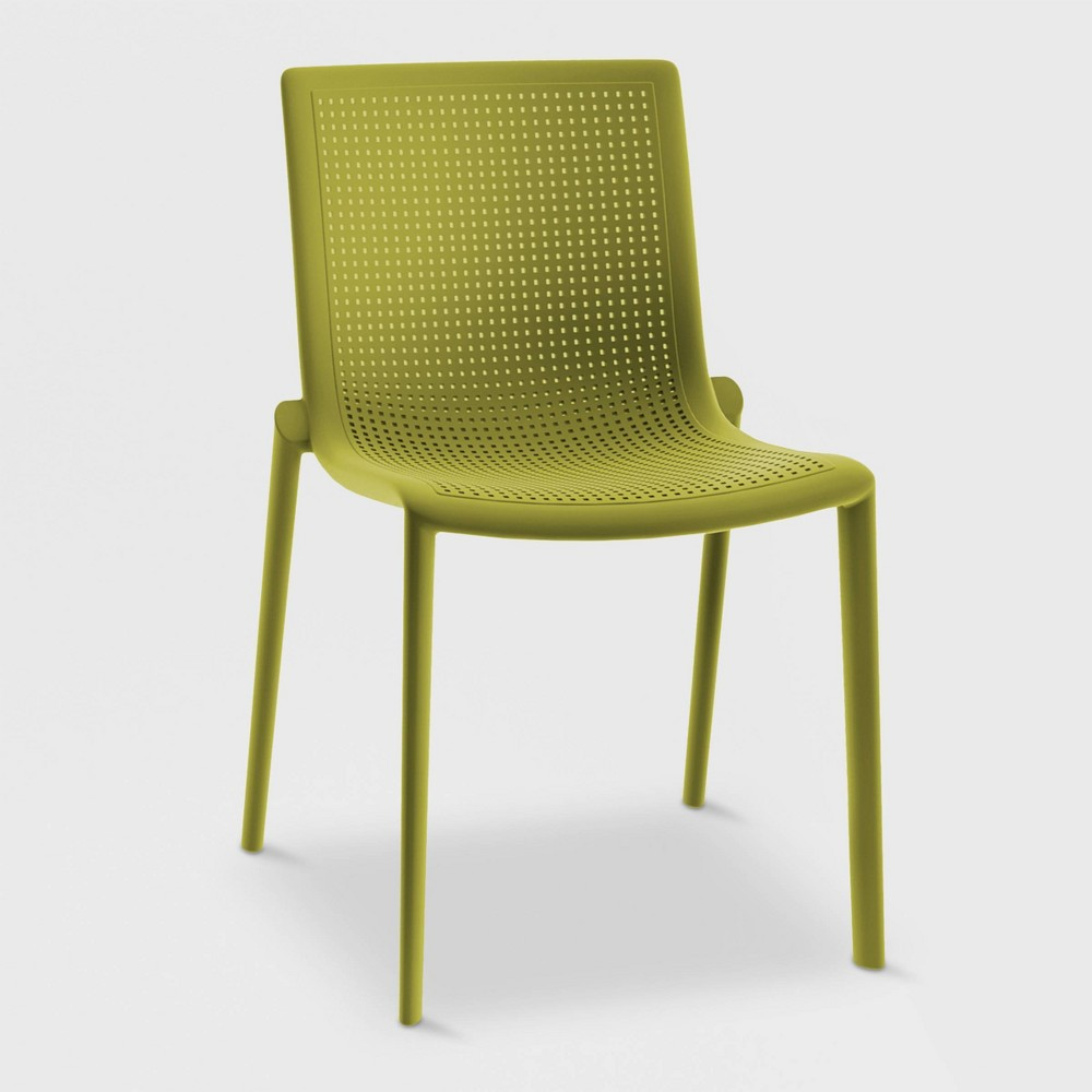 Beekat 2pk Patio Chair - Olive Green - Resol