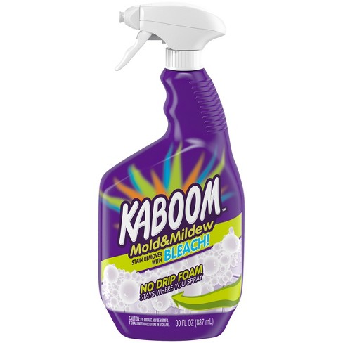 Kaboom No Drip Foam Mold And Mildew Stain Remover With Bleach 30oz