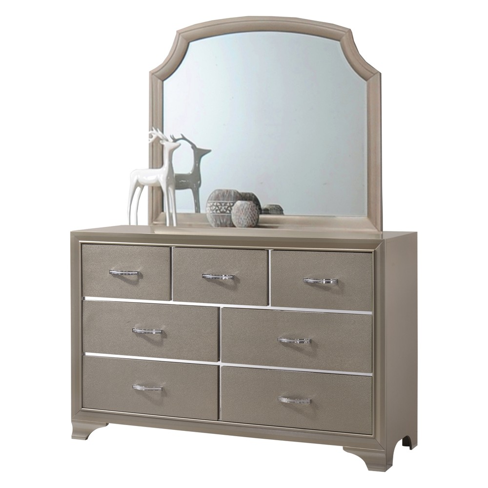Image of Coco Dresser Platinum/Cream - Home Source Industries