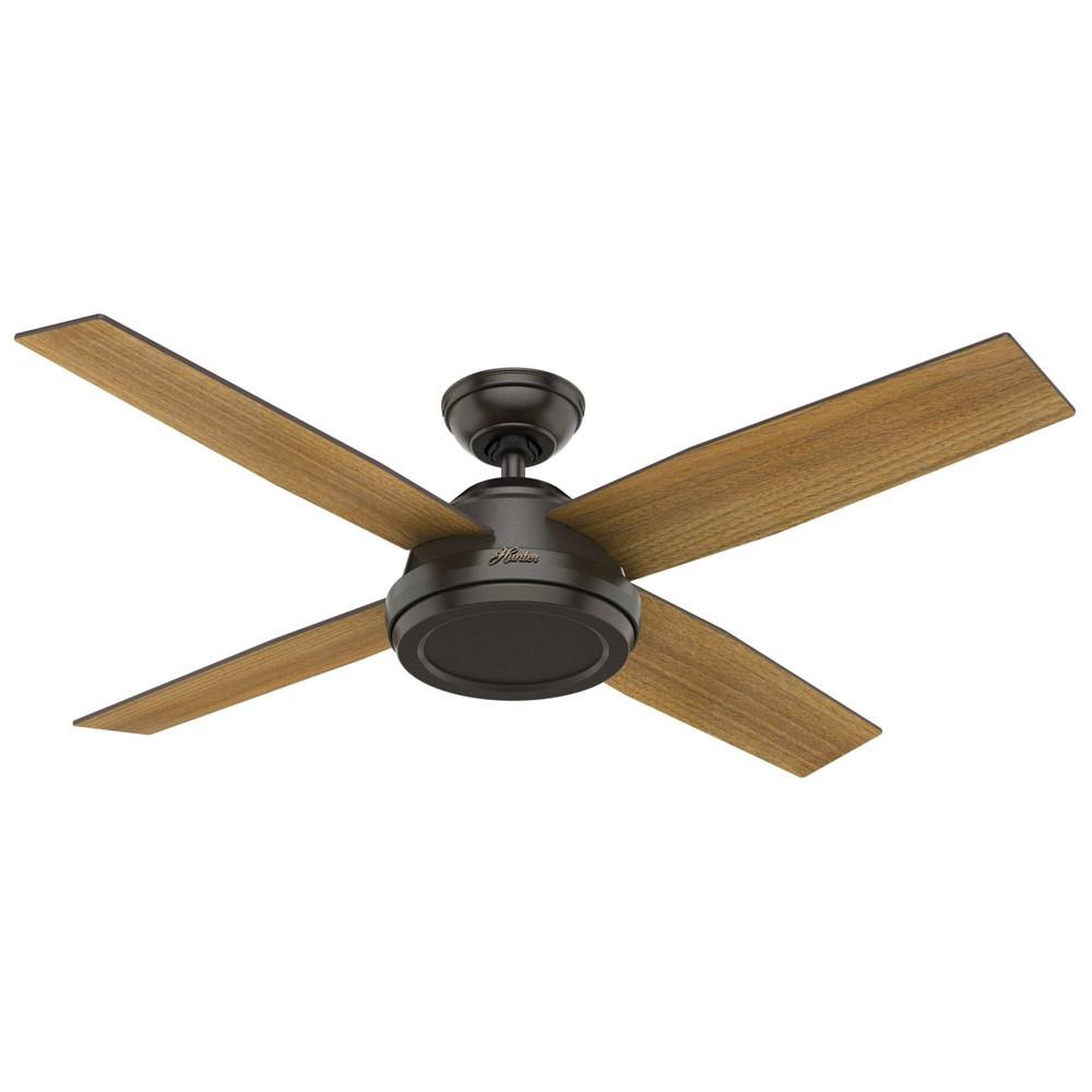 """Image of """"52"""""""" Dempsey Ceiling Fan Noble Bronze - Hunter Fan"""""""