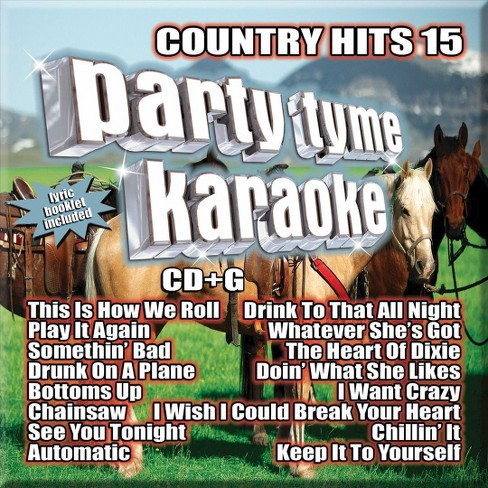 Various - Party tyme karaoke:Country hits 15 (CD) - image 1 of 1