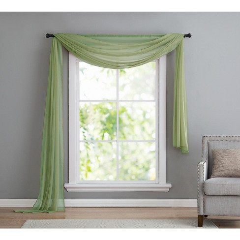 VCNY Home Infinity Sheer Curtain Scarf Panel - image 1 of 1