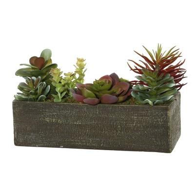 Artificial Succulent Arrangement (5.25 )Green - Vickerman