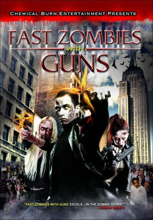 Fast zombies with guns (DVD) - image 1 of 1
