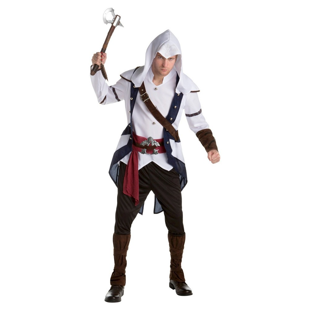 Image of Halloween Men's Assassin's Creed Connor Classic Costume - Large, MultiColored