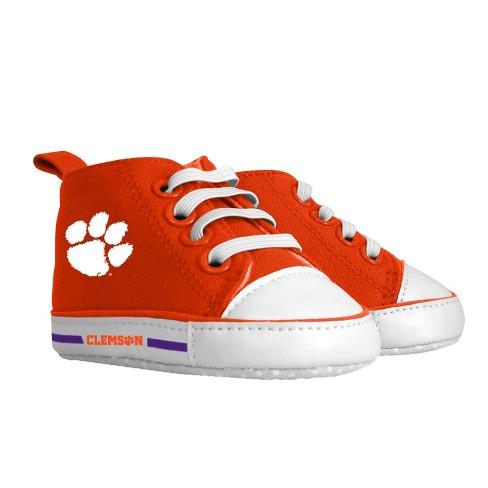 7696769ba NCAA Clemson Tigers Pre-Walker Hightop Sneakers 0-6M   Target