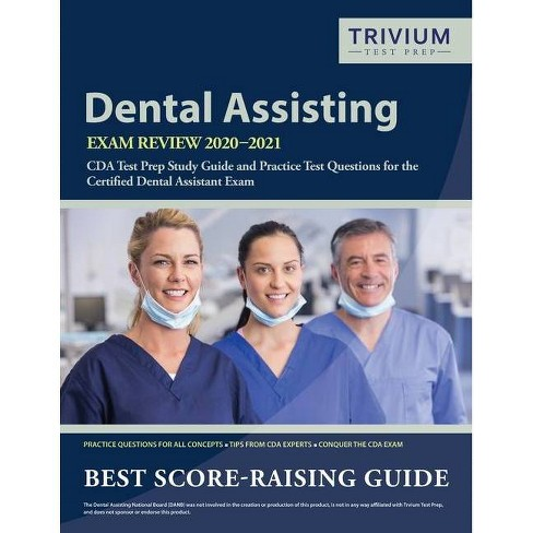 Dental Assisting Exam Review 2020-2021 - by  Trivium Dental Exam Prep Team (Paperback) - image 1 of 1