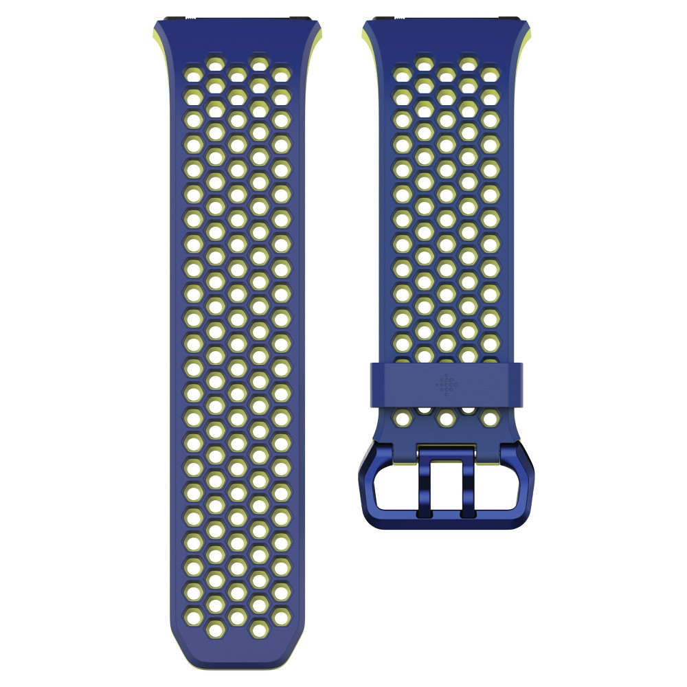 Fitbit Ionic Sport Accessory Band Small - Cobalt/Lime (Blue/Green)