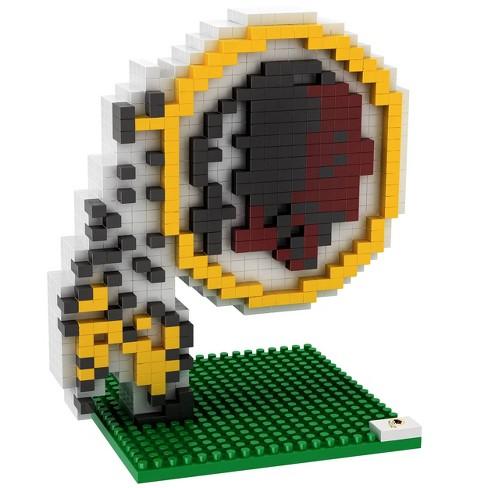 NFL Washington Redskins BRXLZ Mascot Figure 1000pc - image 1 of 1