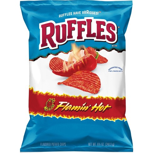 Ruffles Flaming Hot Potato Chips - 8.5oz - image 1 of 3