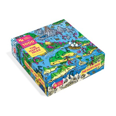 The Happy Isles - Jigsaw Puzzle From The Magic Puzzle Company 1000pc