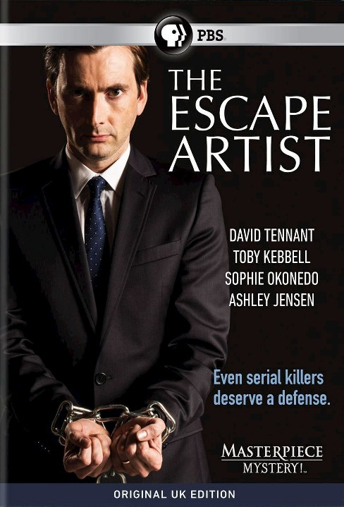Masterpiece mystery:Escape artist (DVD) - image 1 of 1