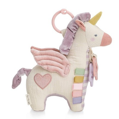 Itzy Ritzy Link & Love Activity Plush with Teether - Pegasus